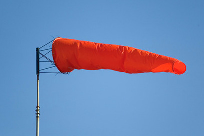 Wind socks with orange color